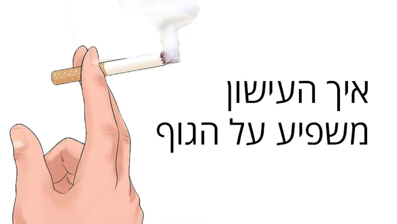 איך העישון משפיע על הגוף