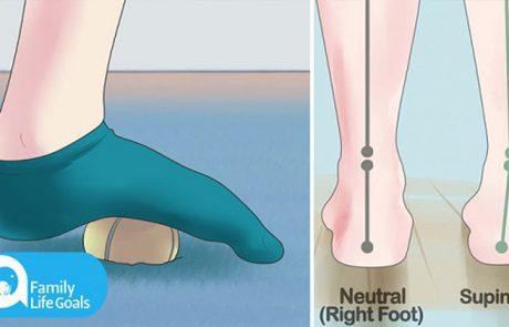 הפטרו מכאבי רגליים בשש המתיחות היעילות הבאות