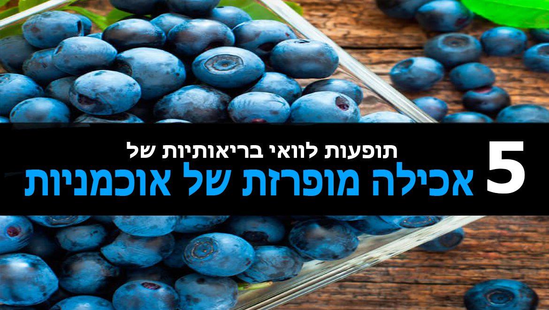 5 תופעות לוואי בריאותיות של אכילה מופרזת של אוכמניות