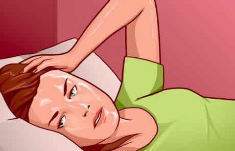 7 סיבות אפשריות להזעות מטרידות בלילה