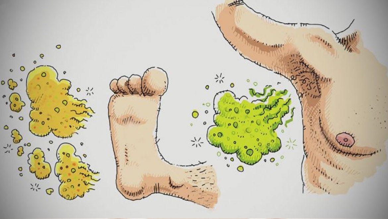 6 סיבות אפשריות לכך שהזיעה שלכם מריחה ממש רע