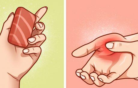 8 תרופות ביתיות עבור התכווצויות ביד